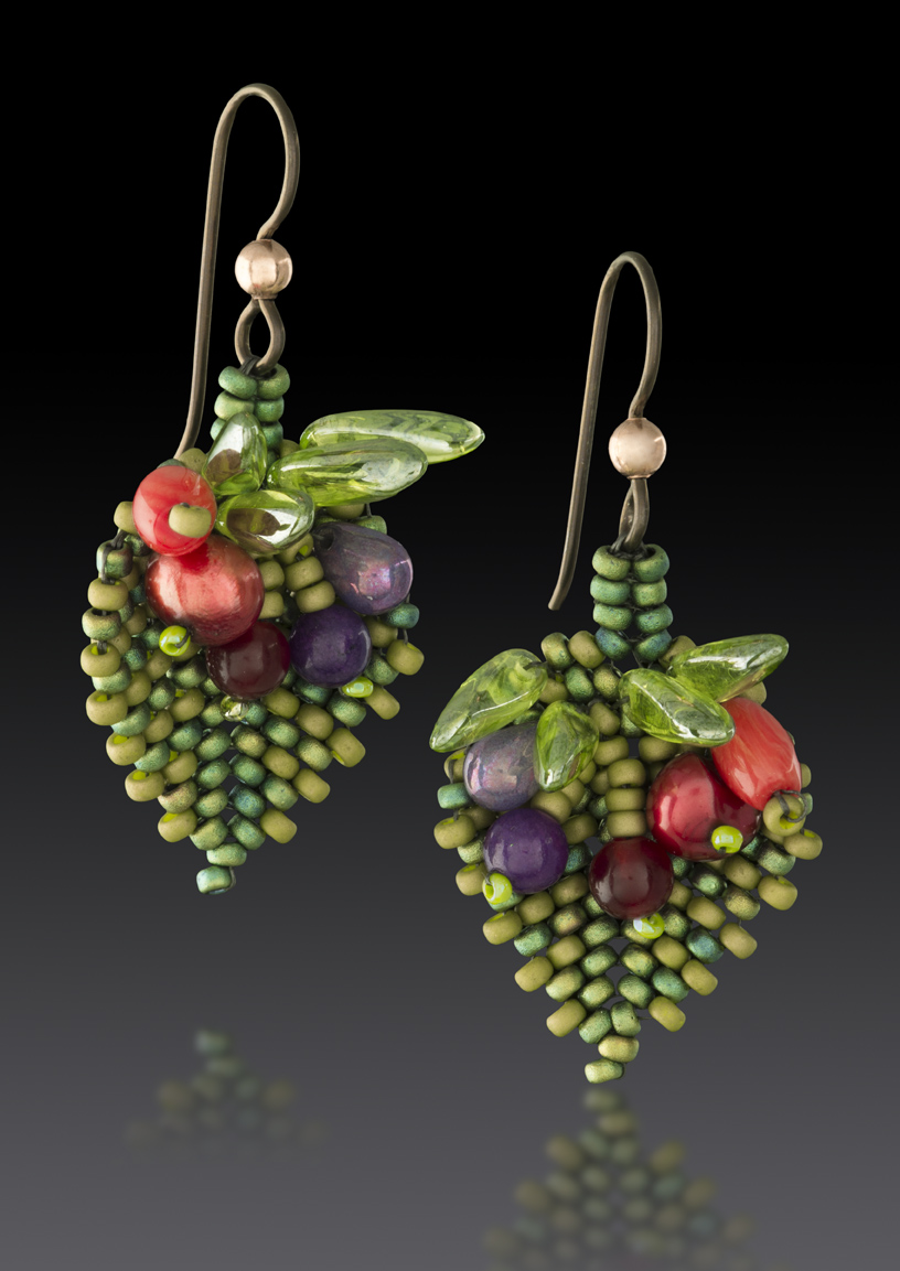 Fiori Earrings Julie Powell Design