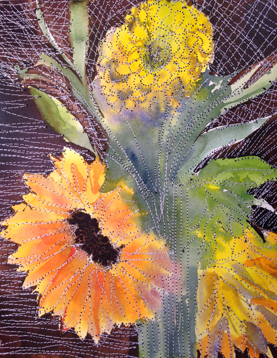 sunflowers and zinnia 7-17-16 web